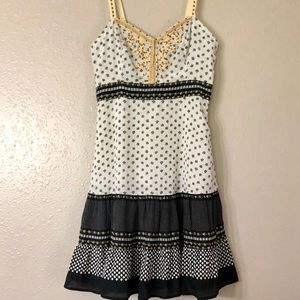 FREE PEOPLE for Anthro adjustable strap dress